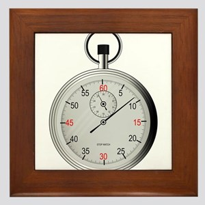 Pocket Watch Framed Tile
