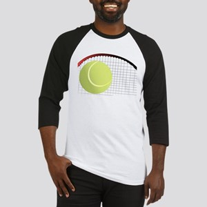 Tennis Ball and Racket Baseball Jersey