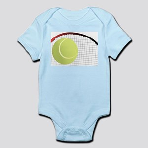 Tennis Ball and Racket Body Suit