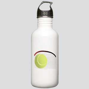 Tennis Ball and Racket Stainless Water Bottle 1.0L