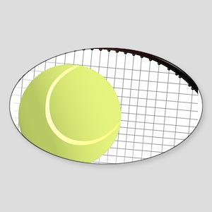 Tennis Ball and Racket Sticker