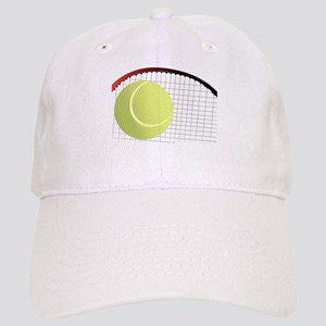 Tennis Ball and Racket Cap