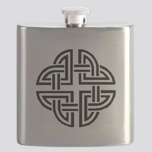 Stonewall Sentinel Celtic Knot Logo Flask