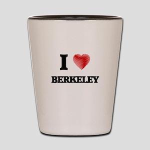 I Heart BERKELEY Shot Glass