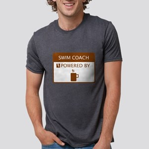 Swim Coach Powered by Coffee T-Shirt