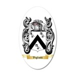 Vigliotti 20x12 Oval Wall Decal