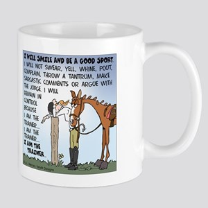 I Am The Trainer Large Mugs