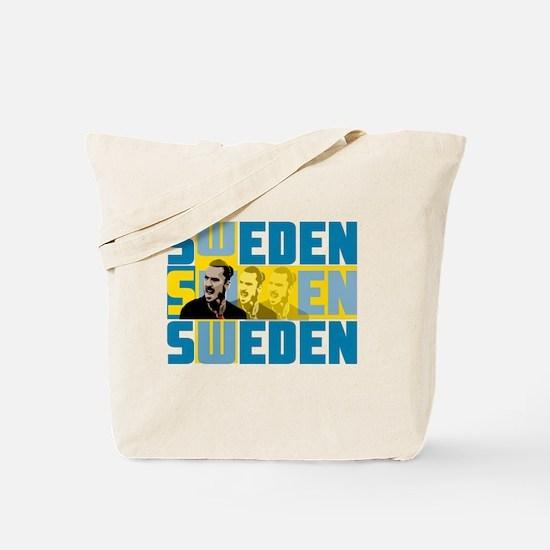 Cool Swedish football Tote Bag