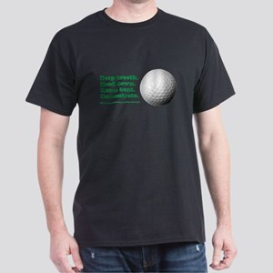 Funny How to Play Golf Shirt Design T-Shirt