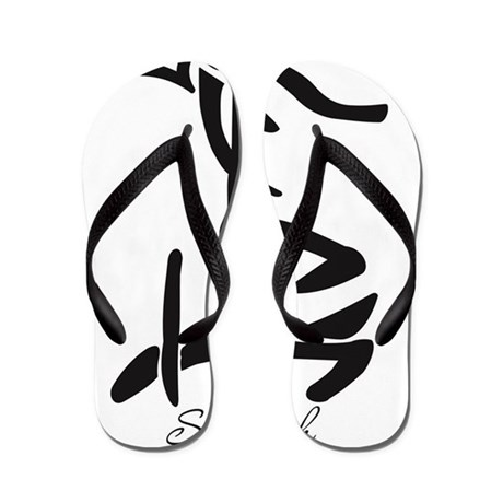 Chinese Symbol For Strength Flip Flops By Admincp135104032