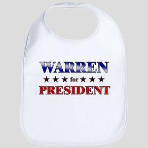 WARREN for president Bib