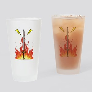 Stonewall Sentinel Kelvin Logo Drinking Glass