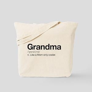 Grandma Definition Tote Bag