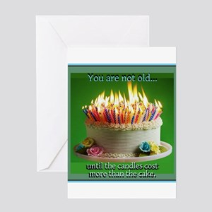 You Are Not Old Greeting Cards