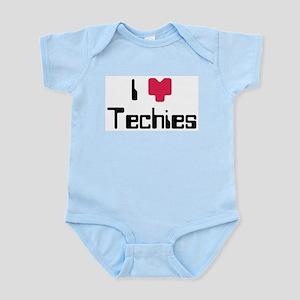 I Heart Techies Infant Bodysuit