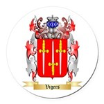 Vigers Round Car Magnet