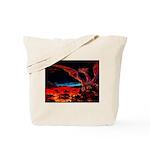 Dragons on both sides tote bag