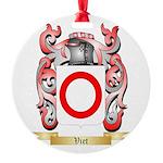 Viet Round Ornament