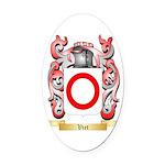 Viet Oval Car Magnet