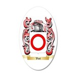 Viet 20x12 Oval Wall Decal