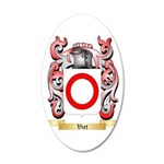 Viet 35x21 Oval Wall Decal