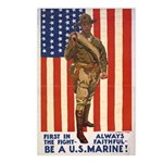 Be a U.S. Marine! Postcards (Package of 8)