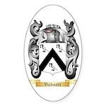 Vielmetti Sticker (Oval 10 pk)