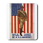 Be a U.S. Marine! Mousepad