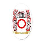Vielli Oval Car Magnet