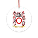 Vielli Round Ornament