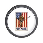 Be a U.S. Marine! Wall Clock