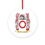 Vidusso Round Ornament