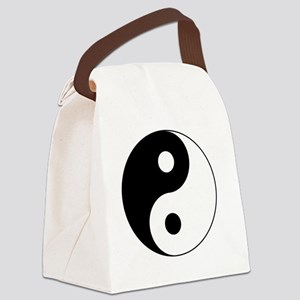Yin Yang Symbol Canvas Lunch Bag