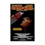 Cam-Girl Mini Poster Print