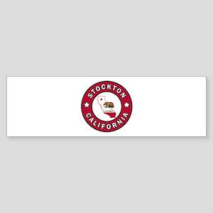 Stockton California Bumper Sticker