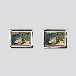 Exp Place Large Poster Rectangular Cufflinks
