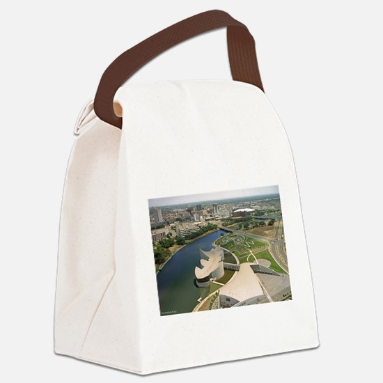 Exp Place Large Poster.png Canvas Lunch Bag