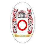 Vidotti Sticker (Oval 50 pk)