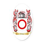 Vidic Oval Car Magnet