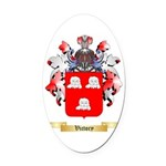 Victory Oval Car Magnet