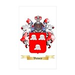 Victory Sticker (Rectangle 50 pk)