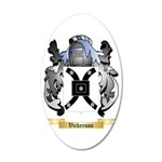Vickerson 35x21 Oval Wall Decal