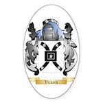 Vickers Sticker (Oval 50 pk)