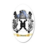 Vickers 35x21 Oval Wall Decal