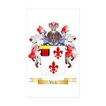 Vick Sticker (Rectangle 50 pk)