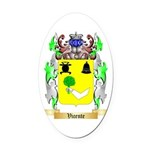 Vicente Oval Car Magnet