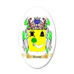 Vicente 20x12 Oval Wall Decal