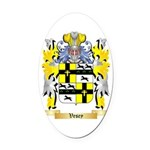 Vesey Oval Car Magnet
