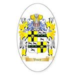Vesey Sticker (Oval 10 pk)