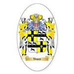 Vesey Sticker (Oval 50 pk)